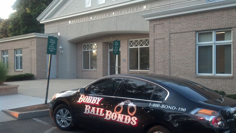 Bobby Bail Bonds provides 24-hour service in Branford, CT, call 1-800-266-3190