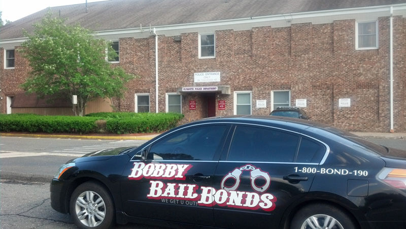 Bobby Bail Bonds at the Plymouth - Terryville Police Station, call 1-800-266-3190