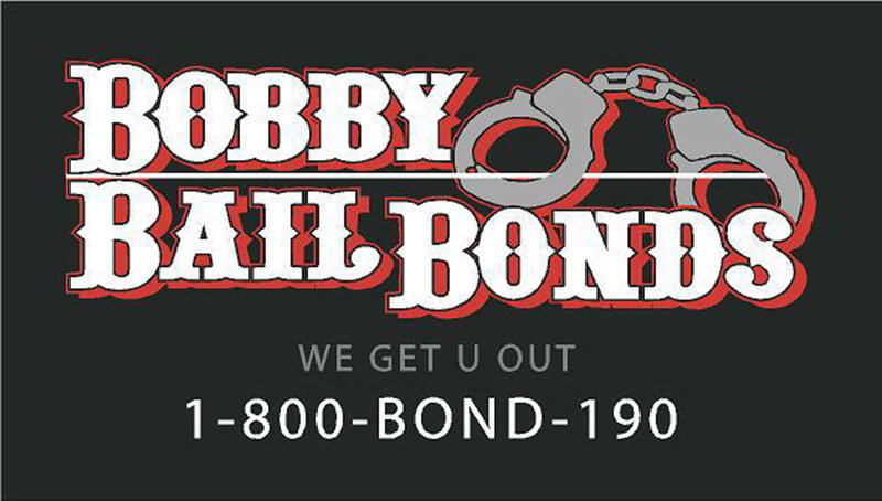 Bobby Bail Bonds can get you out, call 1-800-266-3190