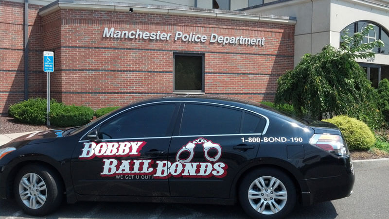 Bobby Bail Bonds will get you out in Manchester, call 1-800-266-3190
