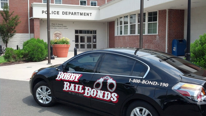 Bobby Bail Bonds Ride in Newington, call 1-800-266-3190