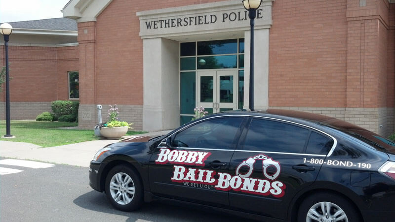 Bobby Bail Bonds Provides 24-hour service in Wethersfield, CT, call 1-800-266-3190